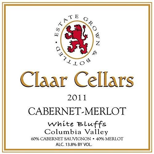 2011 Claar Cellars Estate White Bluffs Vineyard Cabernet-Merlot 750 Ml