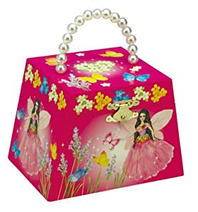 """Musicboxworld Jewellery Bag Butterfly Playing """"It'S A Small World"""""""