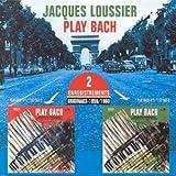 echange, troc Jacques Loussier - Play Bach n°1 & n°2