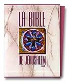 echange, troc Collectif - La Bible de Jérusalem, édition en toile vieux rose
