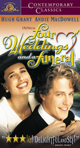 Four Weddings & A Funeral [VHS]