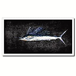Sailfish Art 14153 Custom Picture Frame Wall Home Decor Nautical Beach Fisherman Shabby Chic Gift Ideas - Black 20\