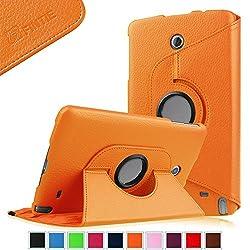Fintie LG G Pad F 8.0 / G Pad II 8.0 Rotating Case - Premium Vegan Leather 360 Degree Swivel Stand Cover for [4G LTE AT&T V495/T-Mobile V496/US Cellular UK495] & [G Pad 2 8.0 V498] 8