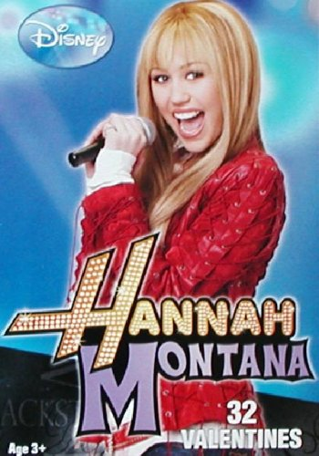 32 Hanna Montana Valentines