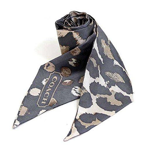 (コーチ)COACH スカーフ ポニーテールスカーフ [ブランド][アウトレット品]f83973gry [並行輸入品]