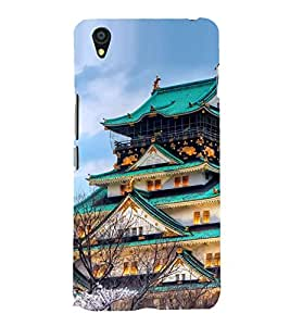 Vizagbeats Chinese Pagoda Bungalow Back Case Cover for ONEPLUS X