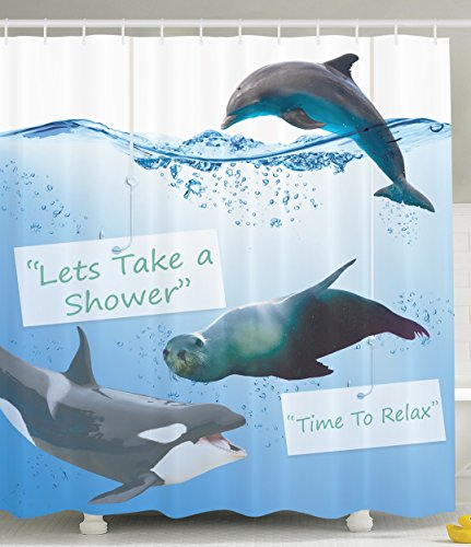 Seal and Friends Shower Curtain