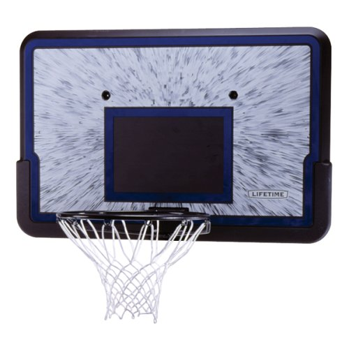 Lifetime 3241 Basketball Backboard and Rim Combo with 44 Inch Shatter Guard Backboard