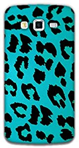 The Racoon Lean LEOPARD PRINT LIGHT BLUE hard plastic printed back case / cover for Samsung Galaxy Grand 2