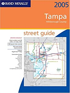 Streetfinder-Tampa/Hillsborough Co. 2005 (Rand McNally Street Guides) by Rand McNally & Company