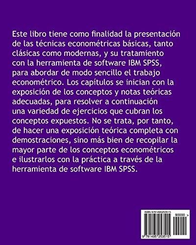 ECONOMETRIA con IBM SPSS. Conceptos y ejercicios resueltos