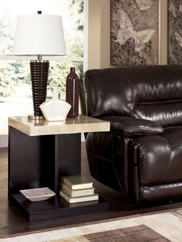 Cheap Contemporary Dark Brown Landyn End Table (T561-3)