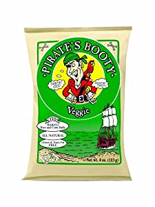 Pirate's Booty Veggie, 4-Ounce Bags (Pack of 12)