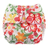 Blueberry Mini Deluxe Pocket Diapers, Butterflies