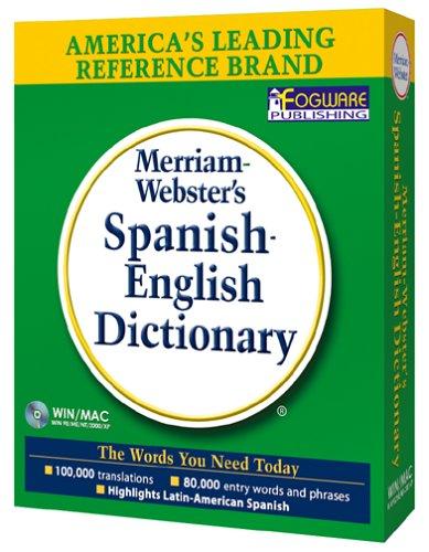 Merriam-Webster s Spanish-English Dictionary JCB00009ZLJN