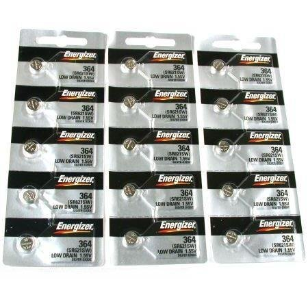 15 364 Energizer Watch Batteries SR621SW Battery New