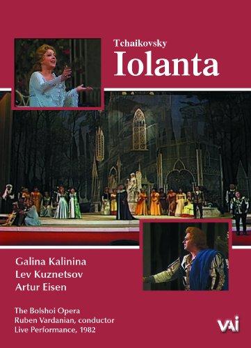 Iolanta - Chaikovski  - DVD