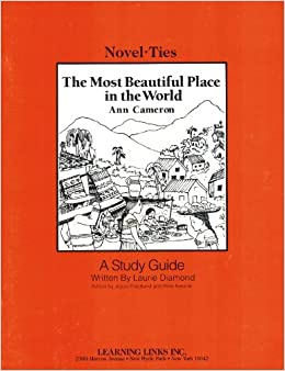Most Beautiful Place In The World Novel Ties Study Guide Ann Cameron 9781569820568 Amazon