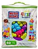 Mega Bloks Trendy Colours Buildable Bag (60 Pieces)