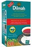 Dilmah Premium 100% Pure Ceylon Tea, 50-Count Tea Bags (Pack of 6)