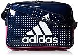 [アディダス] adidas エナメル ショルダーL BIP41 AP3360 (カレッジネイビー/イーキューティーピンク S16)
