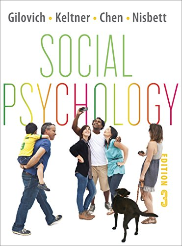 Pdf free social psychology third edition by tom gilovich dacher social psychology third edition by tom gilovich dacher keltner serena chen richard e nisbett fandeluxe Images