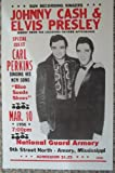 Ron's Past and Present Johnny Cash, Elvis Presley And Carl Prkins In Amory, Mississippi Concert Poster