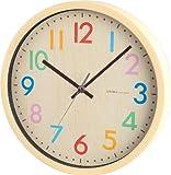 NOA 掛け時計 フレデリカ ナチュラル W-620 N