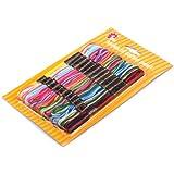 Stickgarn/ Sticktwist 8 Meter Meliert 12 Stück in einer Box