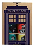 Doctor Who Espresso Boxed, Set of 4, Various Colors