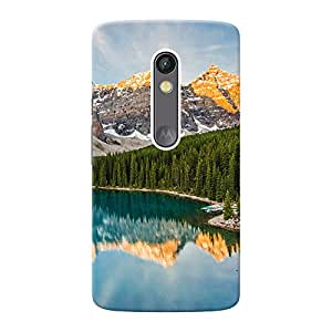 Mobile Back Cover For Motorola Moto X Play (Printed Designer Case)