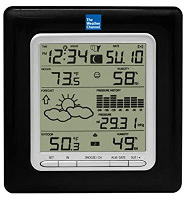La Crosse Technology Wireless Forecast Station with Pressure History from La Crosse Technology