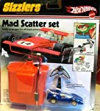 Hot Wheels Sizzlers Mad Scatter Set Blue Car #7