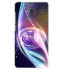 ColourCraft Digital Image Design Back Case Cover for XIAOMI REDMI 2S