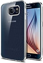 Galaxy S6 Case, Spigen® [Ultra-Thin] Galaxy S6 Case Slim **NEW** [Liquid Air] [Liquid Crystal] Premium Semi-transparent Super Lightweight / Exact Fit / Absolutely NO Bulkiness Soft Case for Galaxy S6 (2015) - Liquid Crystal (SGP11307)