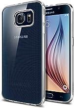 Galaxy S6 Case, Spigen® [Ultra-Thin] Galaxy S6 Case Slim **NEW** [Liquid Air] [Liquid Crystal] Premium Semi-transparent Super Lightweight / Exact Fit / Absolutely NO Bulkiness Soft Case for Galaxy S6 (2015) - Liquid Crystal (SGP11307)