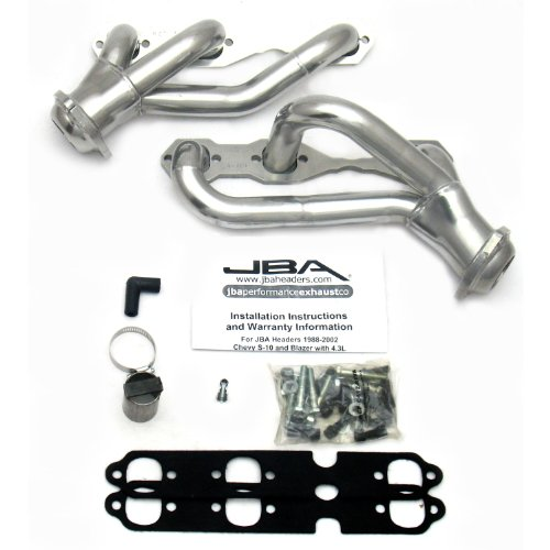 JBA 1930S 1-1//2 Shorty Stainless Steel Exhaust Header for Jeep Liberty 3.7L 03-05