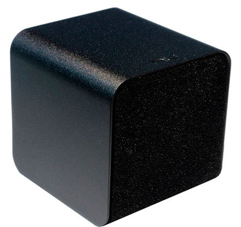 Nuforce Cube-Speaker-Black Portable Speaker With Headphone Amplifier And Audiophile-Grade Usb Dac (Black)
