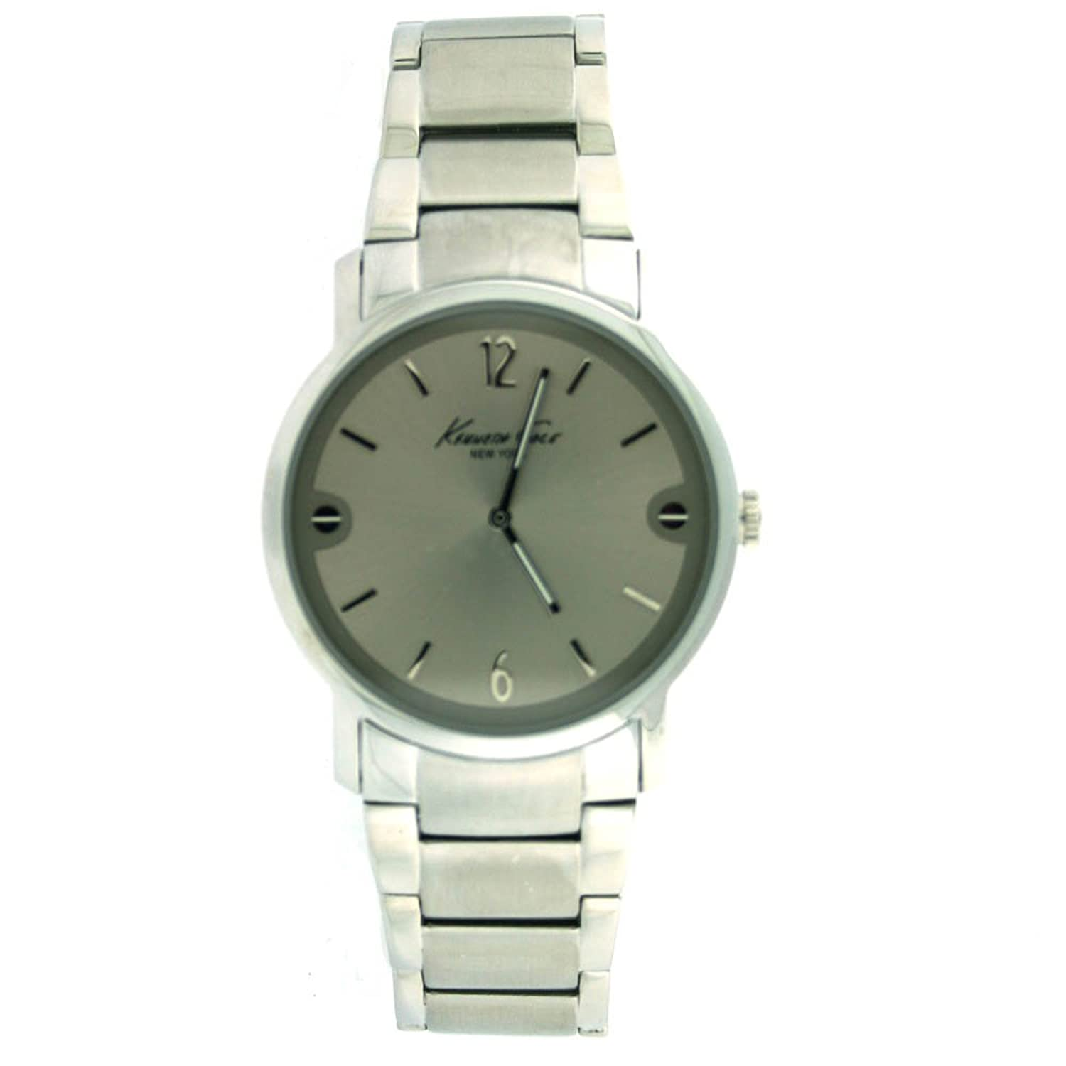 Kenneth Cole New York Bracelet Collection Silver Dial Men's watch #KC3928 kenneth cole reaction unisex rk1285 street collection white dial watch