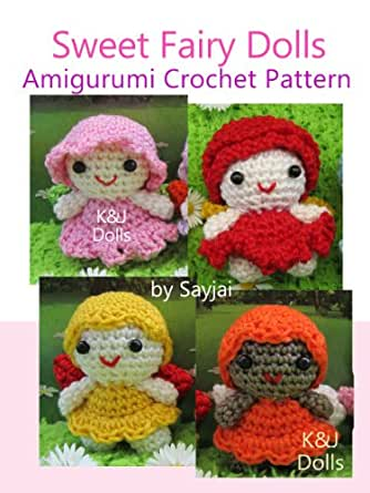 Amigurumi Made Easy Magazine : Amazon.com: Sweet Fairy Dolls Amigurumi Crochet Pattern ...