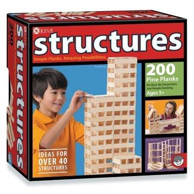KEVA Structures 200 Pine Plank Set