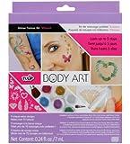 Tulip Body Art Glitter Tattoo Kits Vibrant