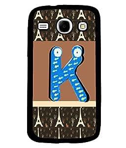 PrintVisa Metal Printed Alphabet Designer Back Case Cover for Samsung Galaxy Core I8260/ I8262-D5053
