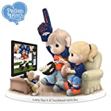 NFL-Licensed Denver Broncos Fan Precious Moments Porcelain Figurine - By The Hamilton Collection at Amazon.com