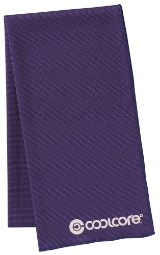Cool core towel purple