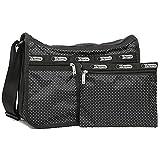 (レスポートサック) LeSportsac レスポートサック バッグ LESPORTSAC 7507 D653 DELUXE EVERYDAY BAG ショルダーバッグ JET SET PIN DOT[並行輸入品]