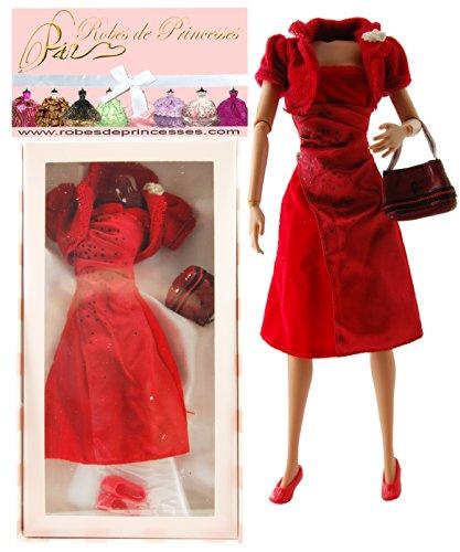 """Vestito da principessa """"MODELE"""" per Bambole Barbie, Disney ed altri personaggi."""