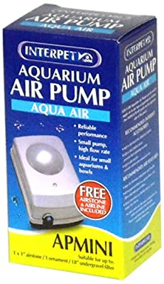Interpet Aqua Air Aquarium Air Pump - AP Mini