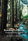 img - for Reading to Write: Composition in Context by Peter Elias Sotiriou (2001-03-08) book / textbook / text book