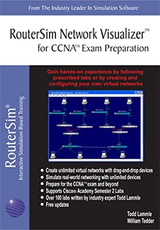 RouterSim Network Visualizer™ for CCNA™ Exam Preparation
